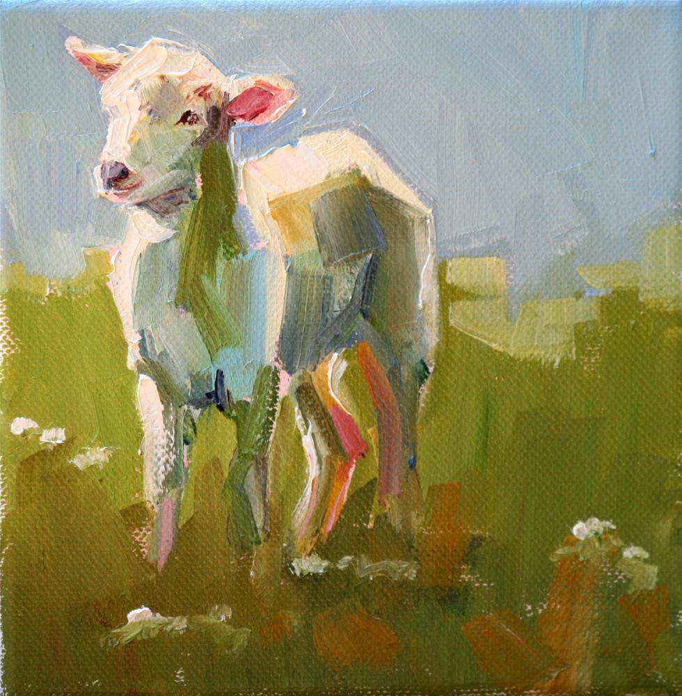 """""""romper"""" original fine art by Carol Carmichael"""