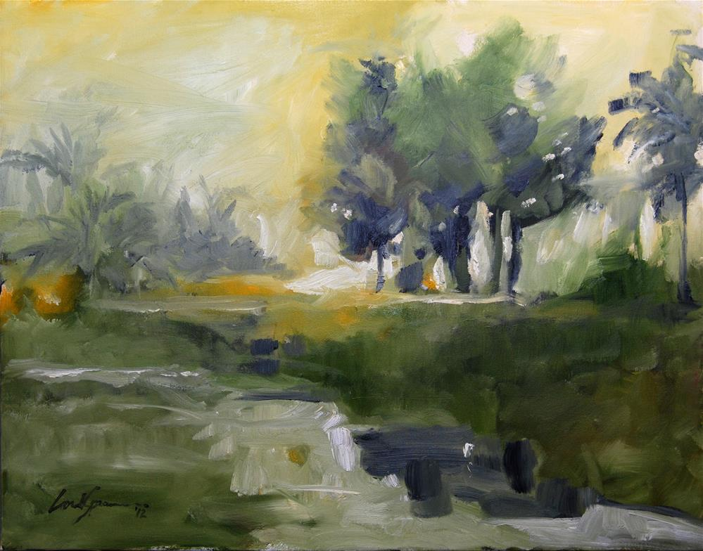 """Island Time"" original fine art by Cornelis vanSpronsen"