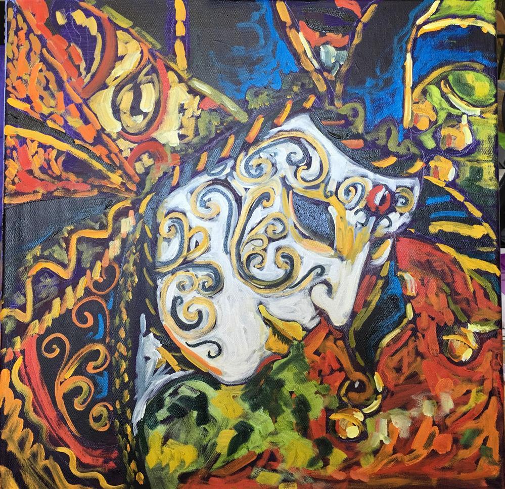 """""""Manipulation"""" original fine art by Robyn Wellman"""