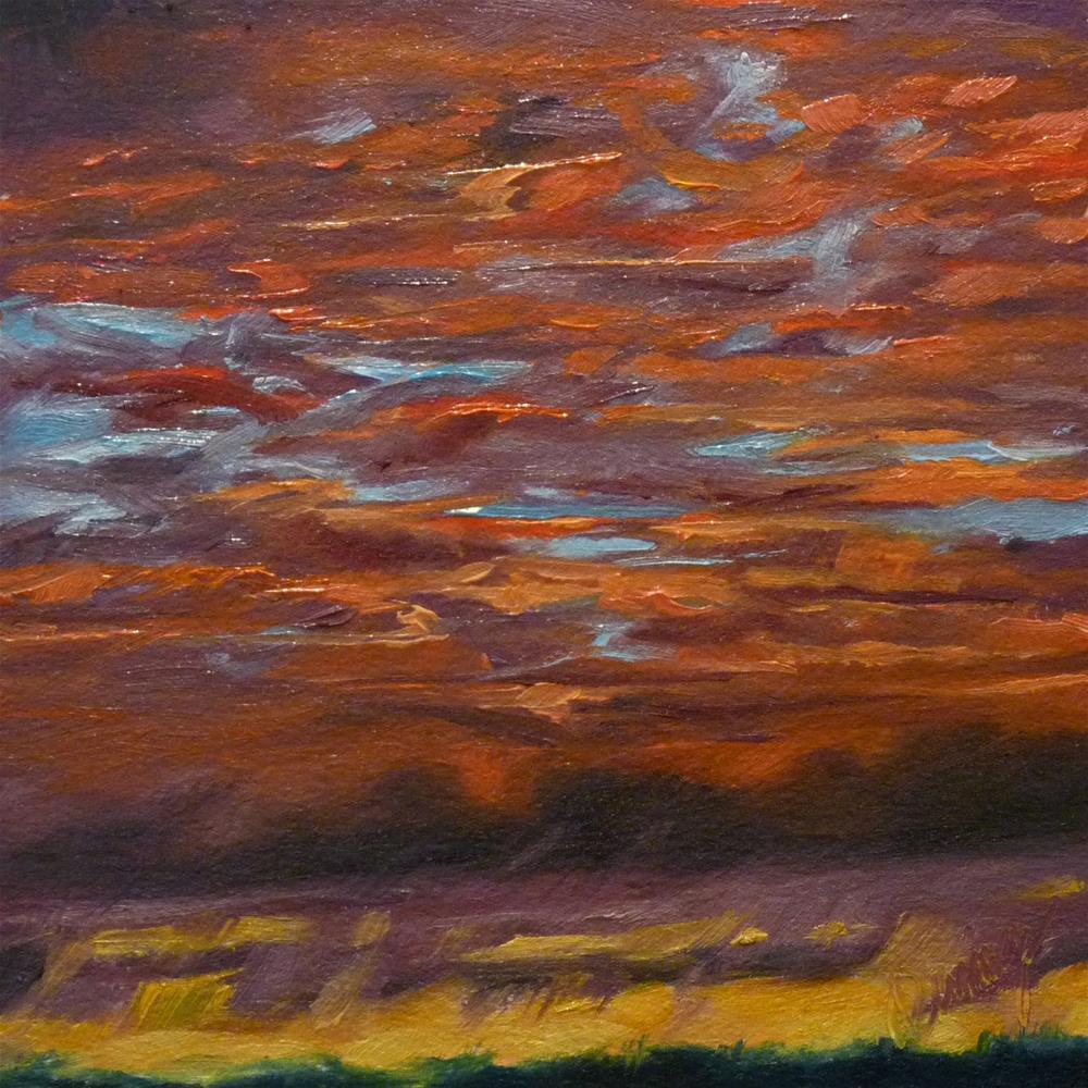 """Sky12"" original fine art by Sharman Owings"