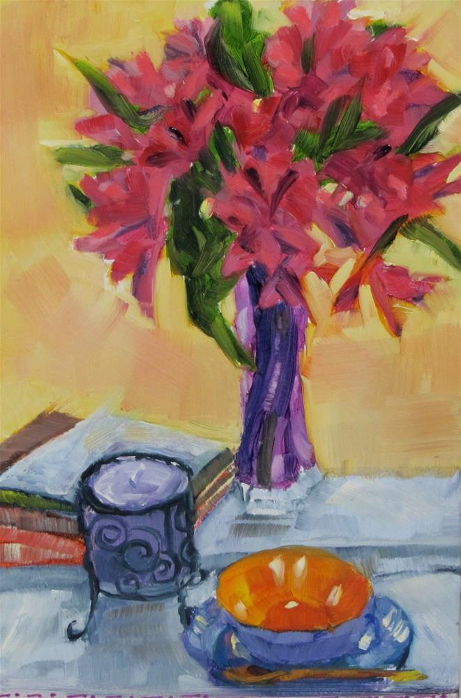 """A Few of My Favorite Things"" original fine art by Christine Holzschuh"