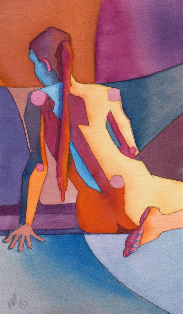 """Kat"" original fine art by Mark Allison"