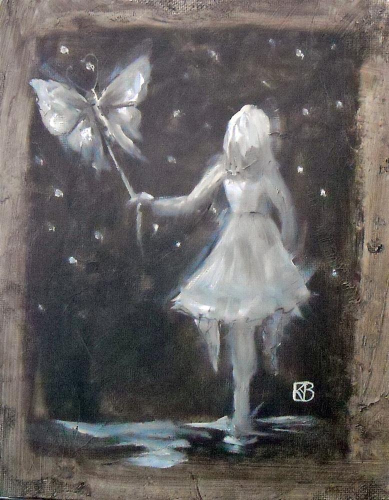 """Midnight Ramble"" original fine art by Kathleen Barnes"