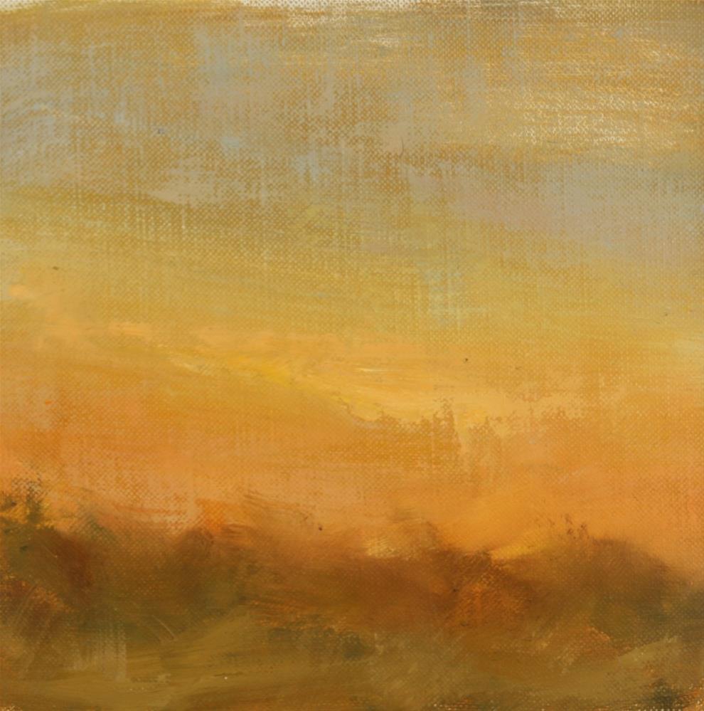 """""""Fall Sunset 11"""" original fine art by Scott Serafica"""
