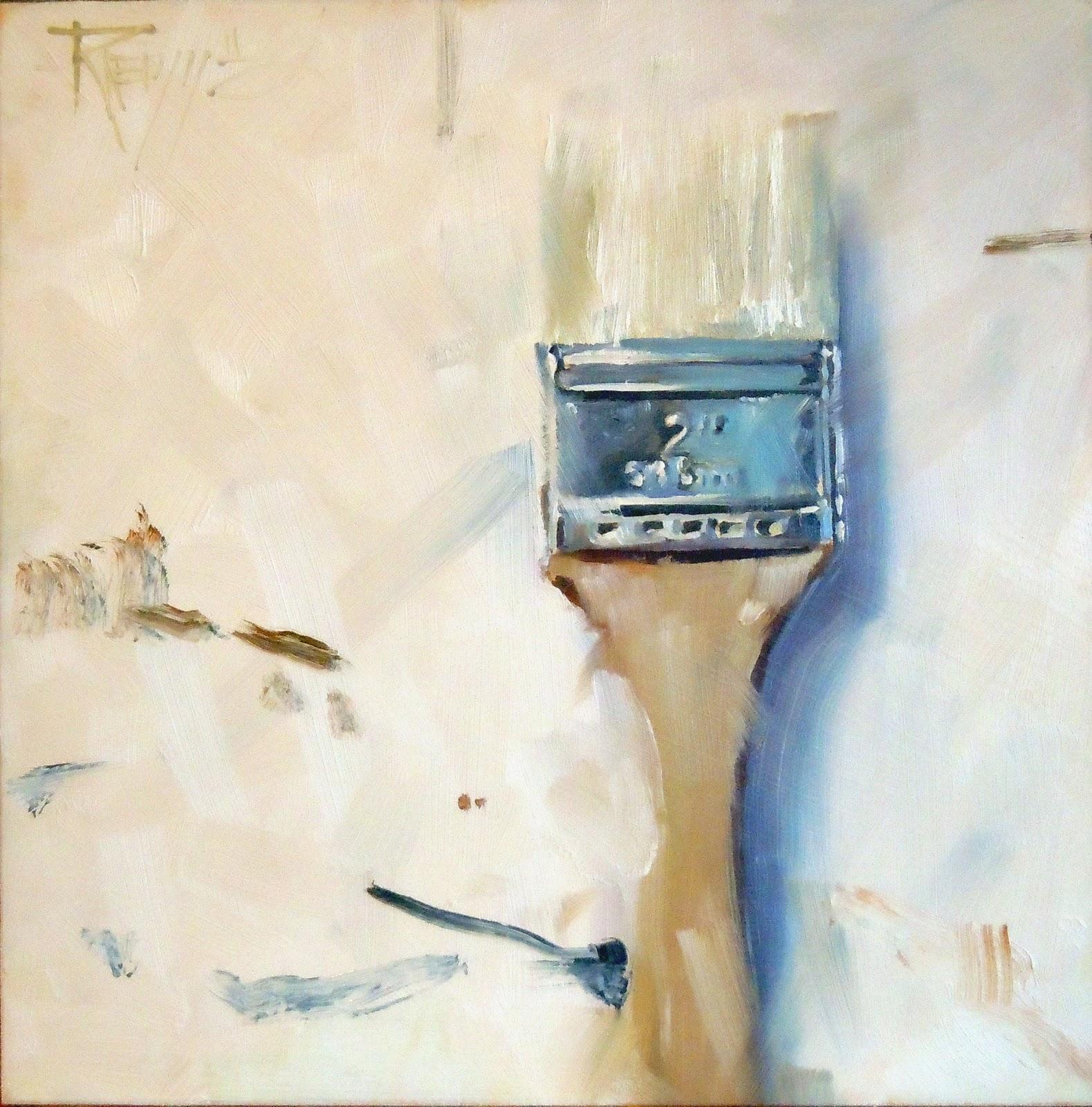 """Chip Brush      Happy New Year from Robin Weiss Fine Art!"" original fine art by Robin Weiss"