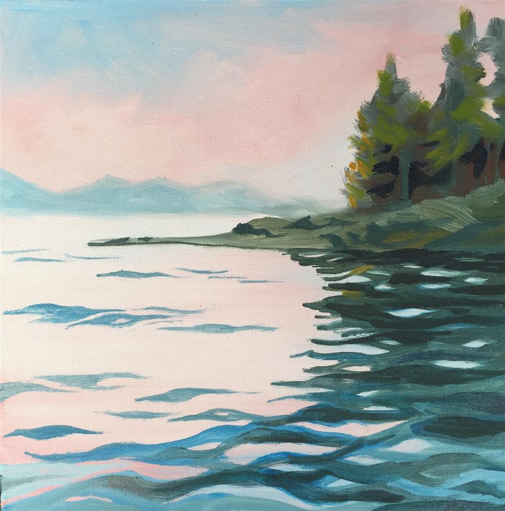 """Fresh Water"" original fine art by Sally Posner"
