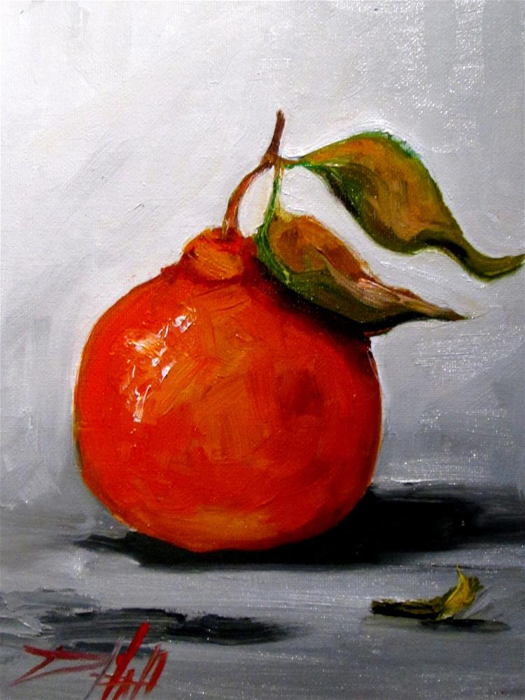 """Tangerine"" original fine art by Delilah Smith"