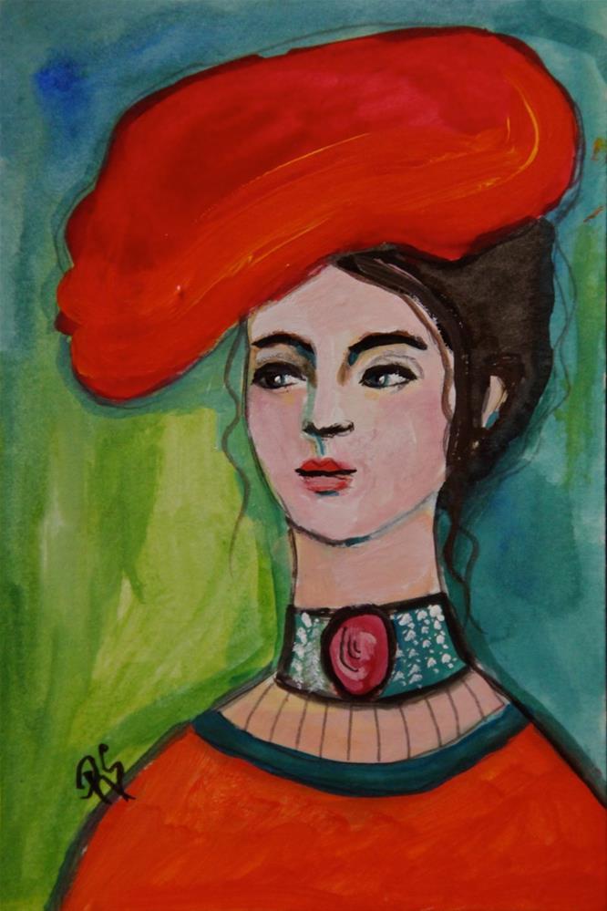 """Paulina"" original fine art by Roberta Schmidt"