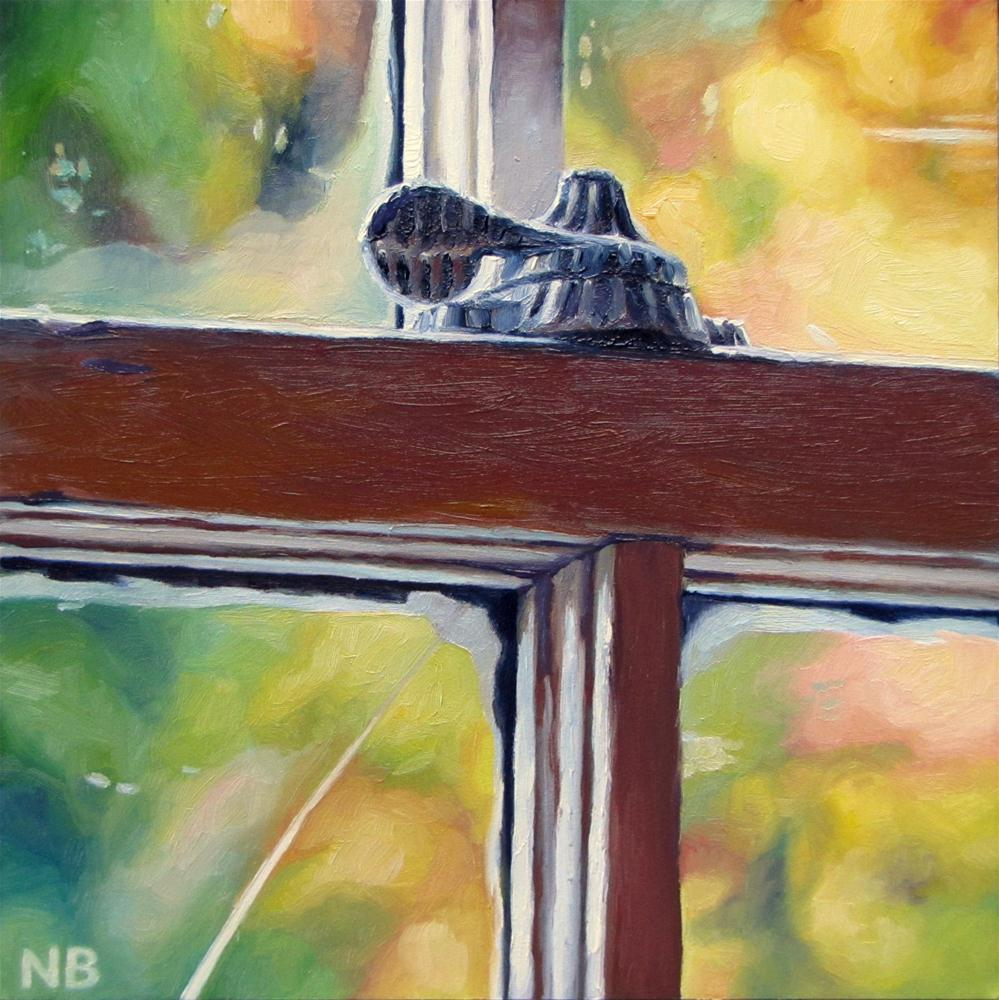 """Whatever Befall"" original fine art by Nora Bergman"