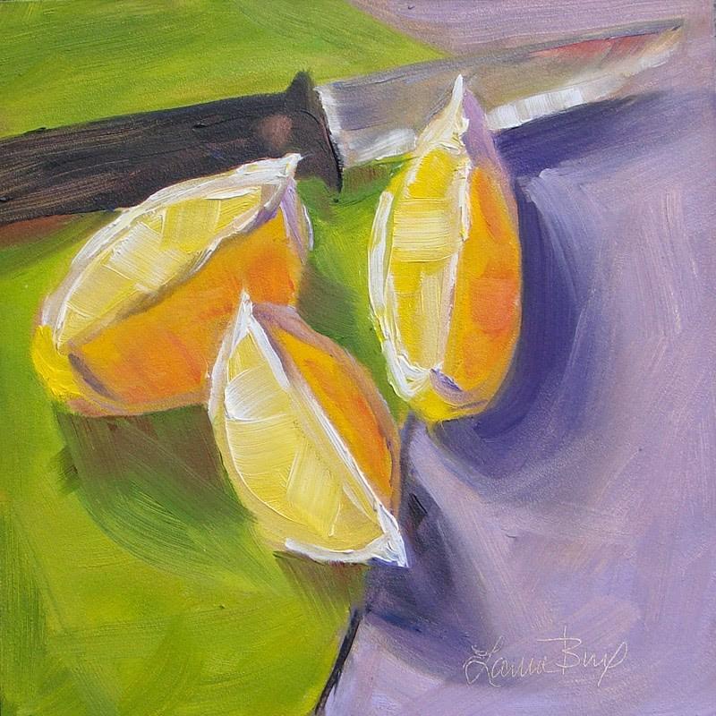"""Lemonade - 160"" original fine art by Laura  Buxo"