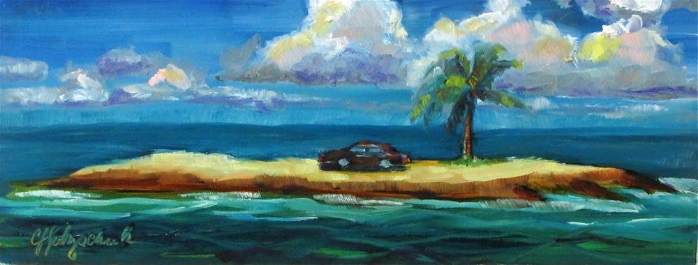 """Stranded"" original fine art by Christine Holzschuh"