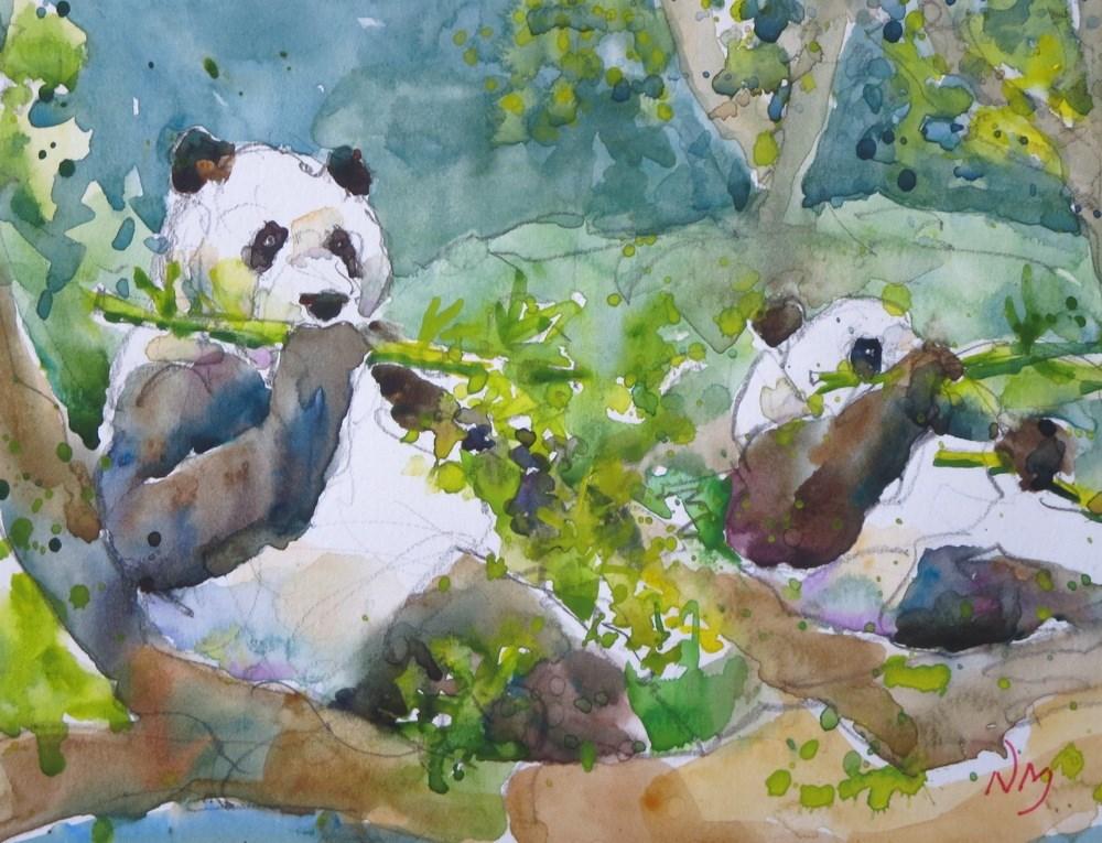 """haven"" original fine art by Nora MacPhail"