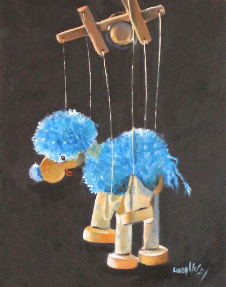 """""""I Got No Strings"""" original fine art by Linda McCoy"""