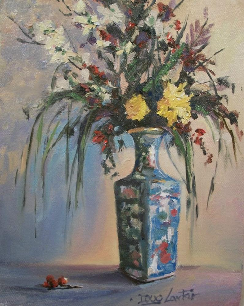 """Oriental Vase"" original fine art by Doug Carter"