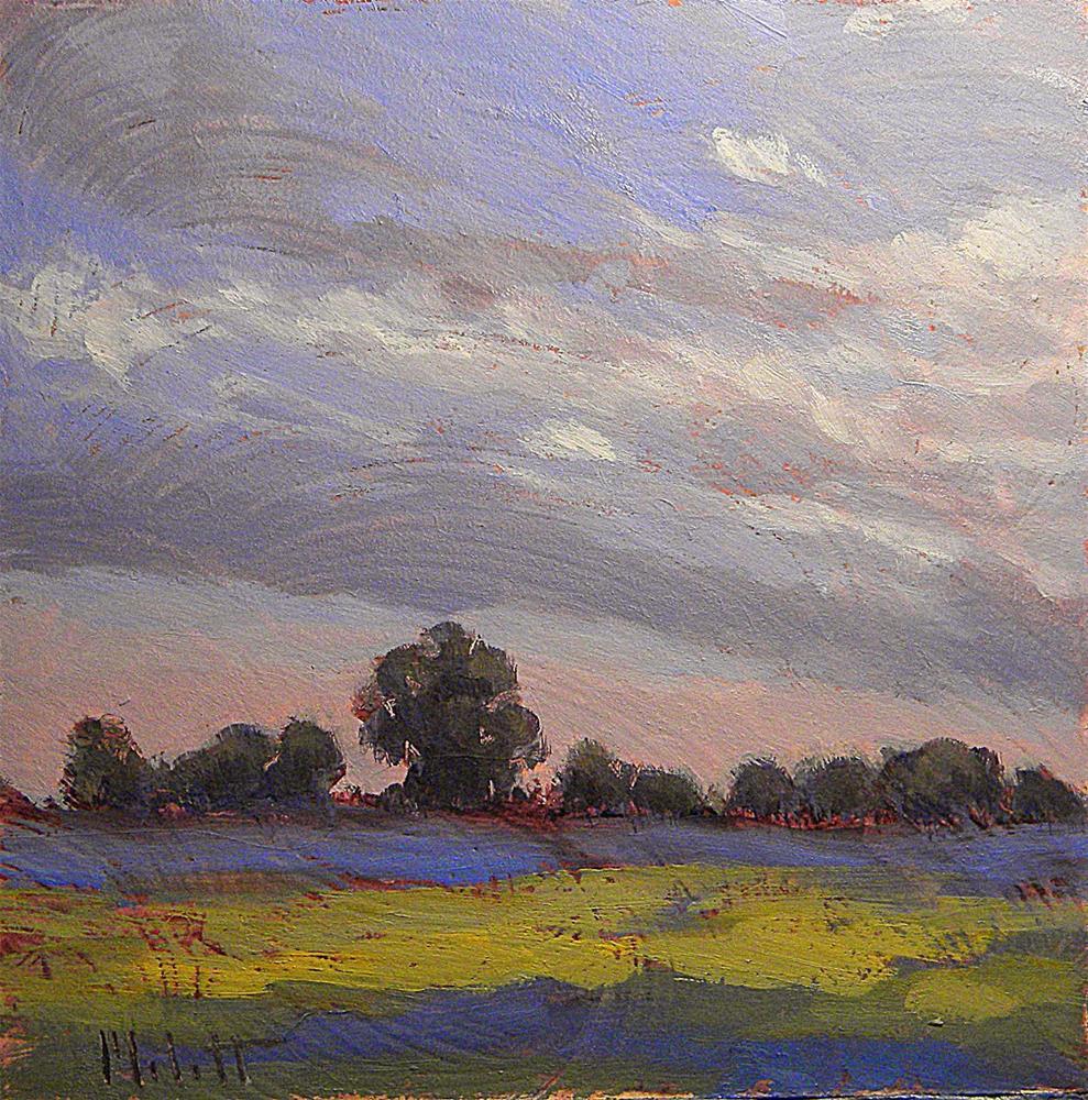 """Midwest Landscape and Skies Daily Paintings Heidi Malott"" original fine art by Heidi Malott"