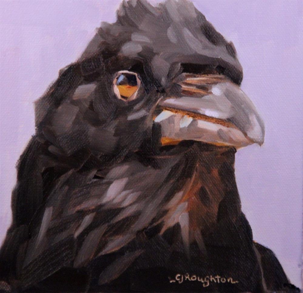 """Watch This!"" original fine art by C J Roughton"