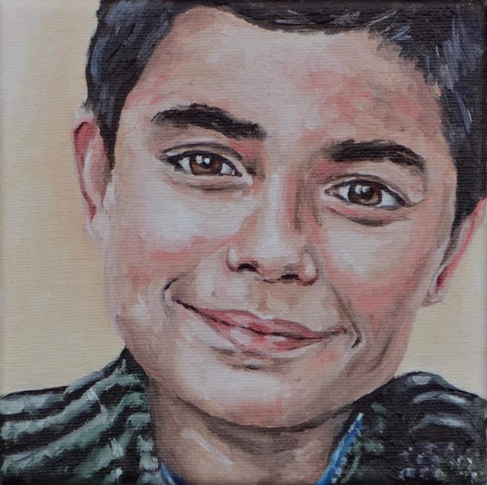 """Boy III"" original fine art by Jacinthe Rivard"