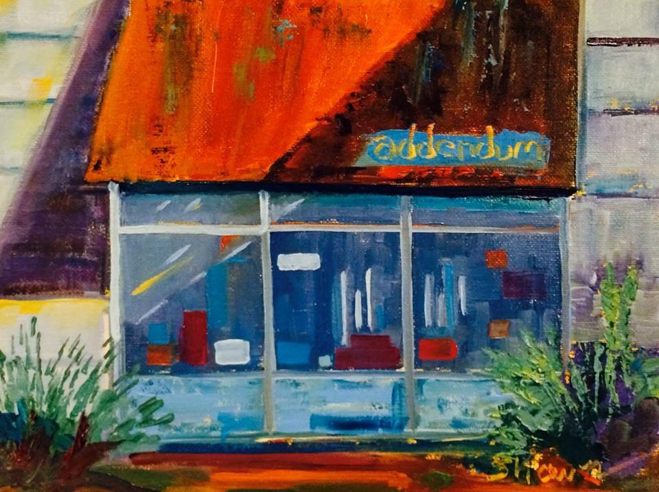 """""""Addendum Gallery"""" original fine art by Shawn Deitch"""