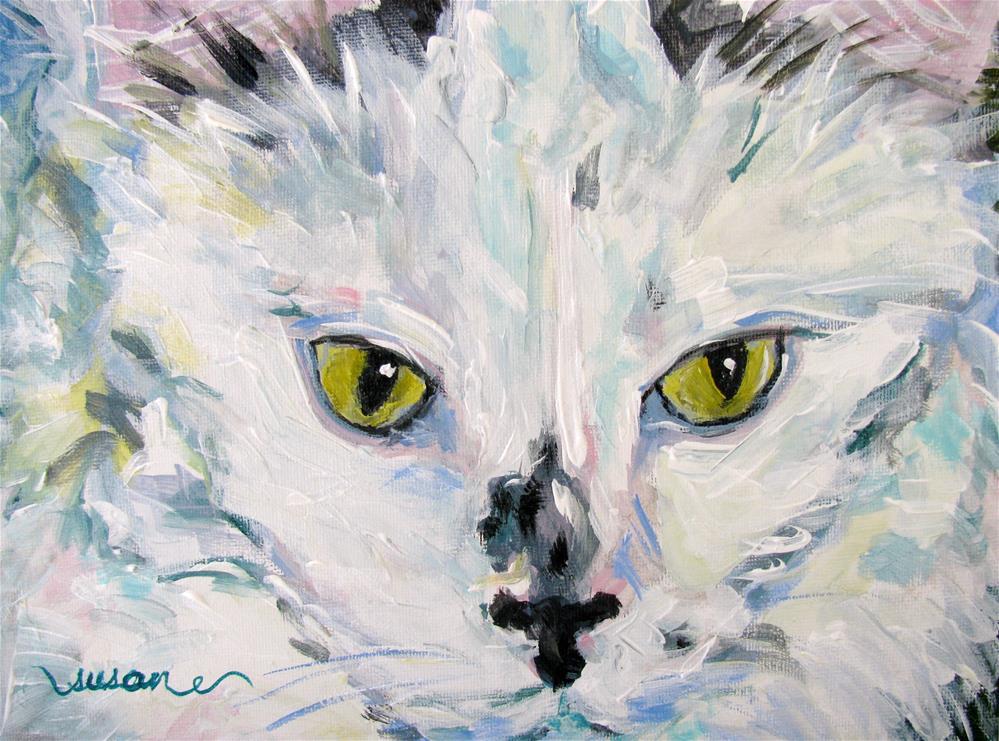 """Gracie"" original fine art by Susan Elizabeth Jones"