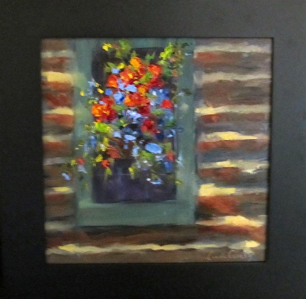 """Life is good"" original fine art by Linda Carney"