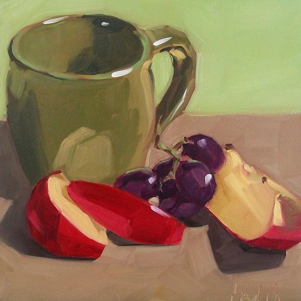 """Colorful snack"" original fine art by Brandi Bowman"