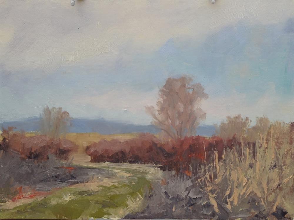 """Mile South"" original fine art by Sheila Marie"