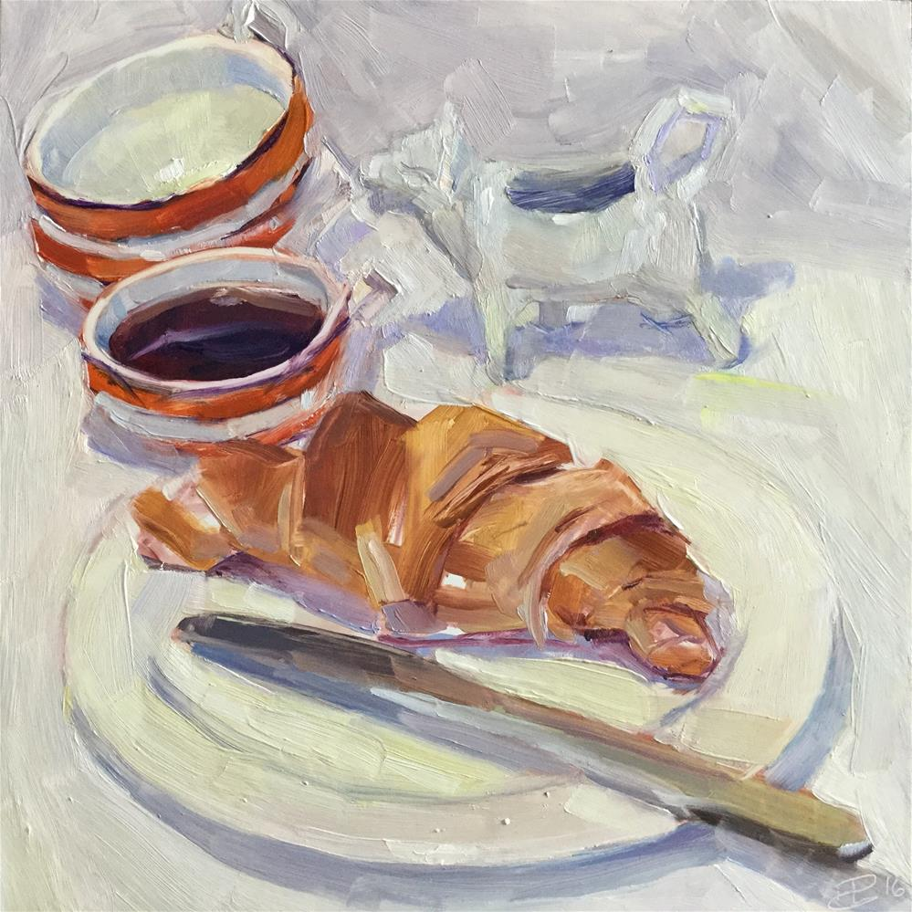 """Dairy Free"" original fine art by Paula Howson-Green"