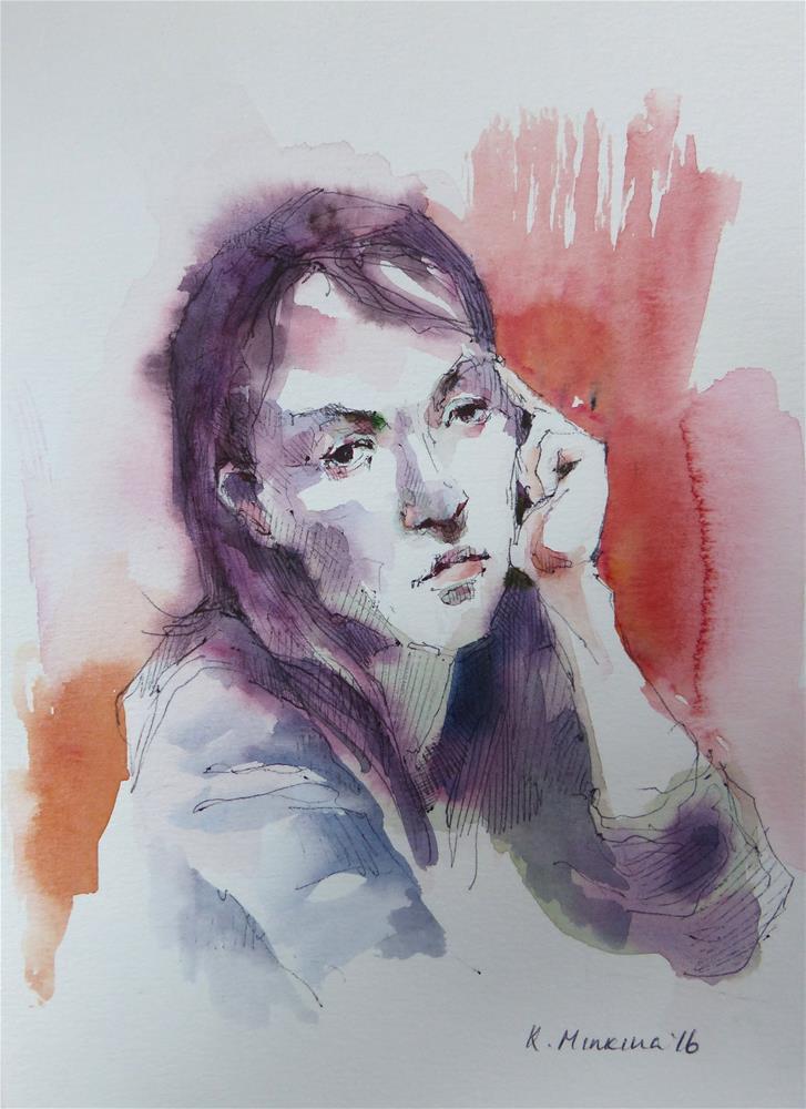 """sketchbook#39"" original fine art by Katya Minkina"