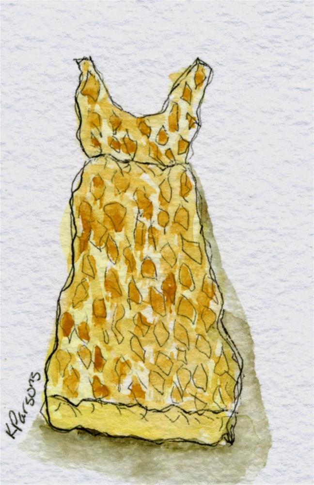 """""""Thrift Store Dress"""" original fine art by Kali Parsons"""
