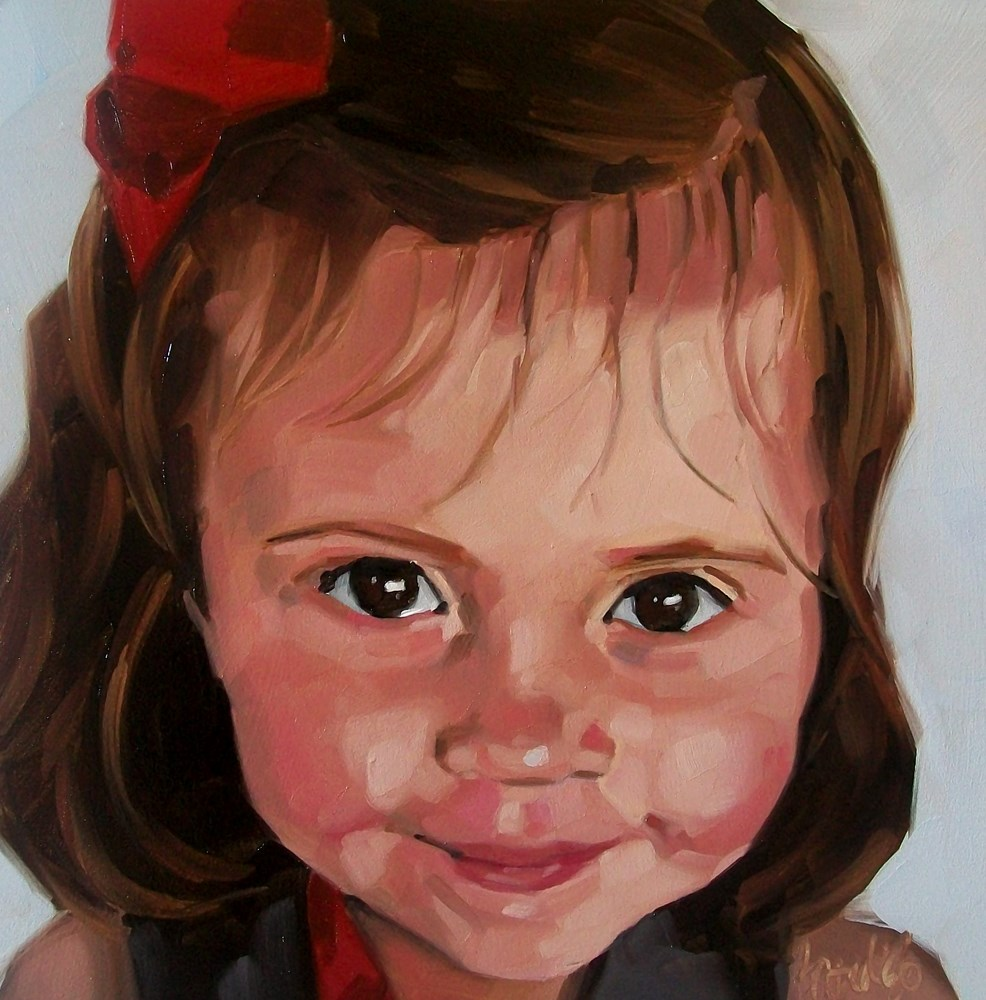 """Isabel"" original fine art by Brandi Bowman"