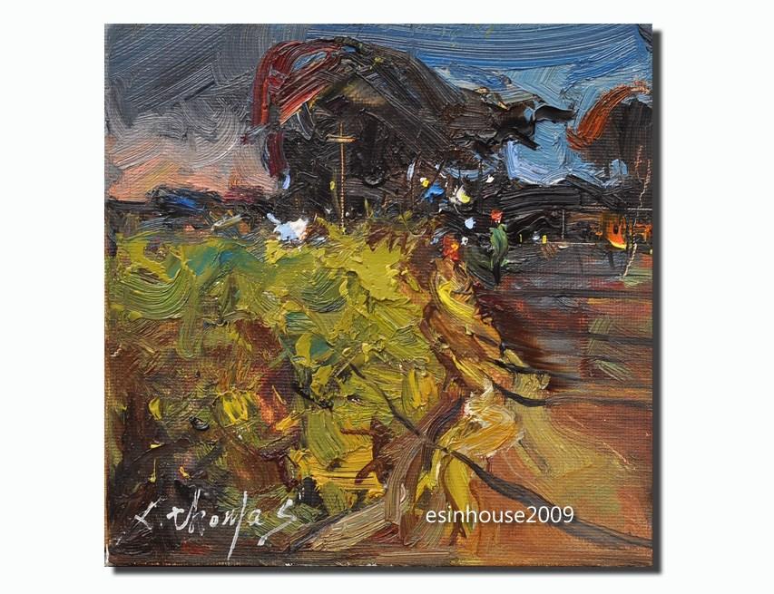 """Night"" original fine art by Thomas Xie"