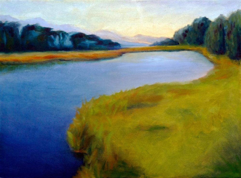"""Serenity Marsh"" original fine art by Susan Bertocci"