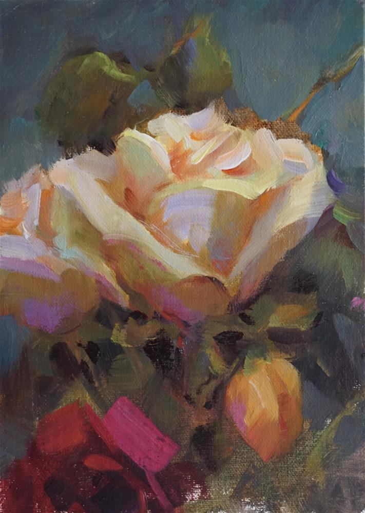 """Sunday Floral"" original fine art by Carol Myer"