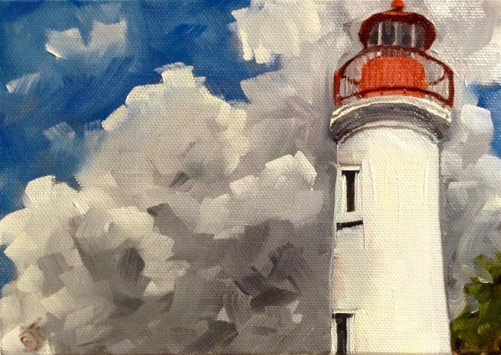 """""""Cloud Build Up"""" original fine art by Bobbie Cook"""
