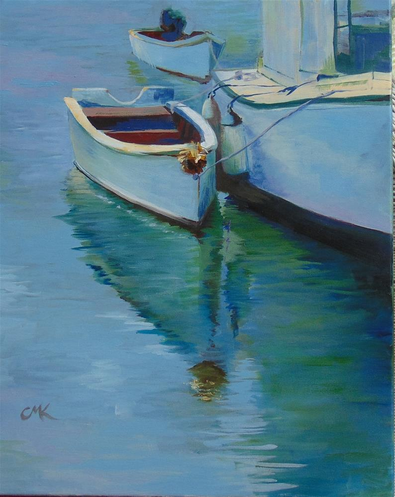 """""""Reedville Supporters"""" original fine art by Catherine Kauffman"""