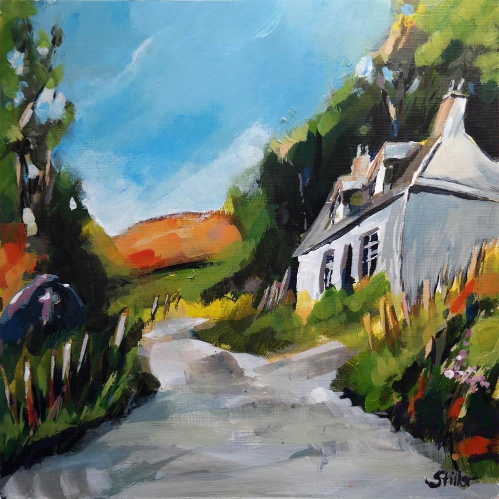 """3344 Cornwall Reloaded"" original fine art by Dietmar Stiller"