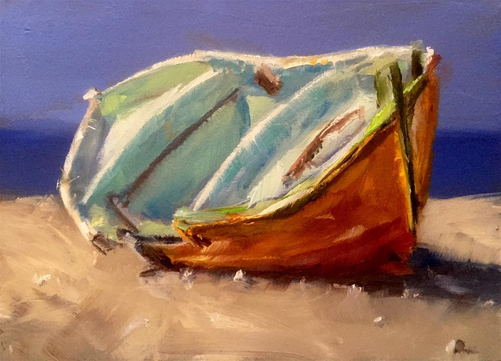 """""""Grounded"""" original fine art by Gary Bruton"""
