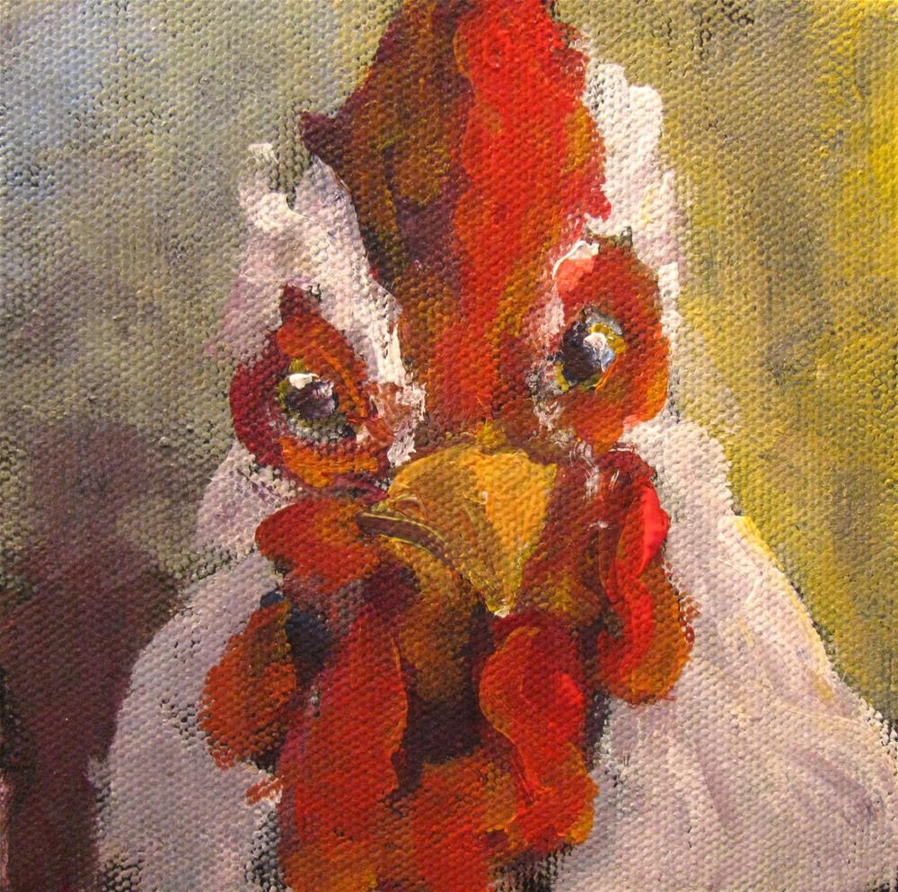 """Monday Morning"" original fine art by Susan Elizabeth Jones"