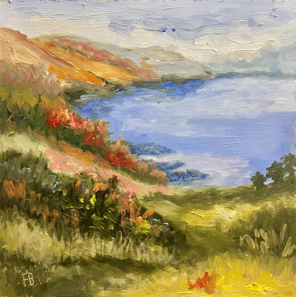 """224 Fertile Valley"" original fine art by Fred Bell"