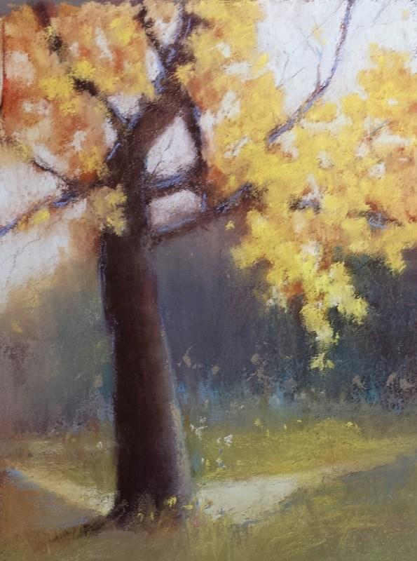 """Where the Spirits Play"" original fine art by Cindy Haase"