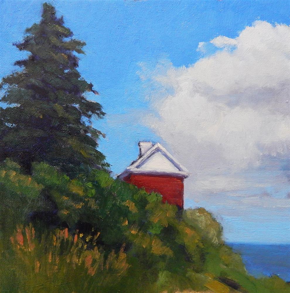 """Maine Morning"" original fine art by Lisa Kyle"