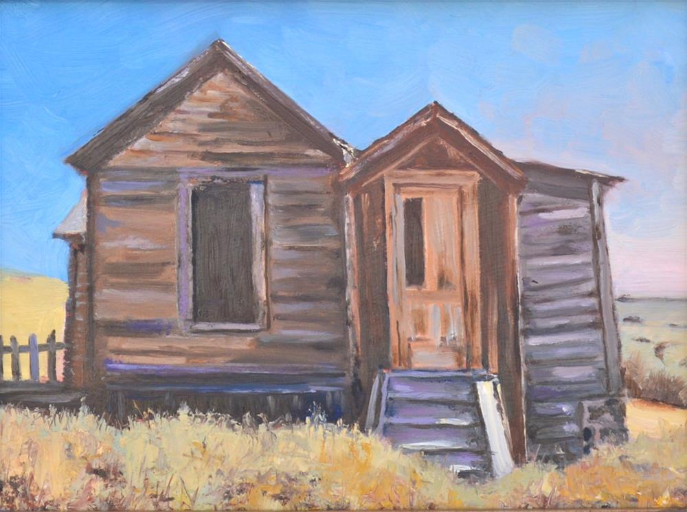 """Deserted"" original fine art by Peter Bain"
