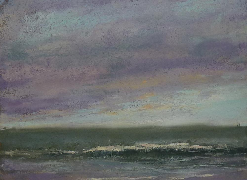 """Storm over the Atlantic"" original fine art by Karen Margulis"