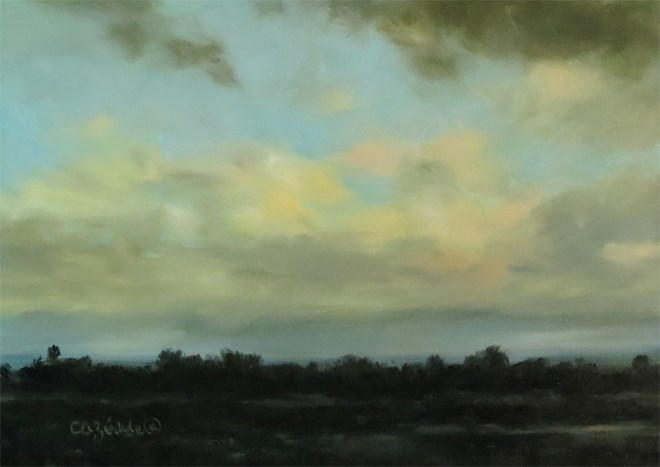 """California Dreaming"" original fine art by Carol Zirkle"