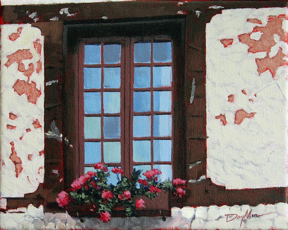 """Sur Rue Claude Monet, Giverny"" original fine art by Mike Daymon"