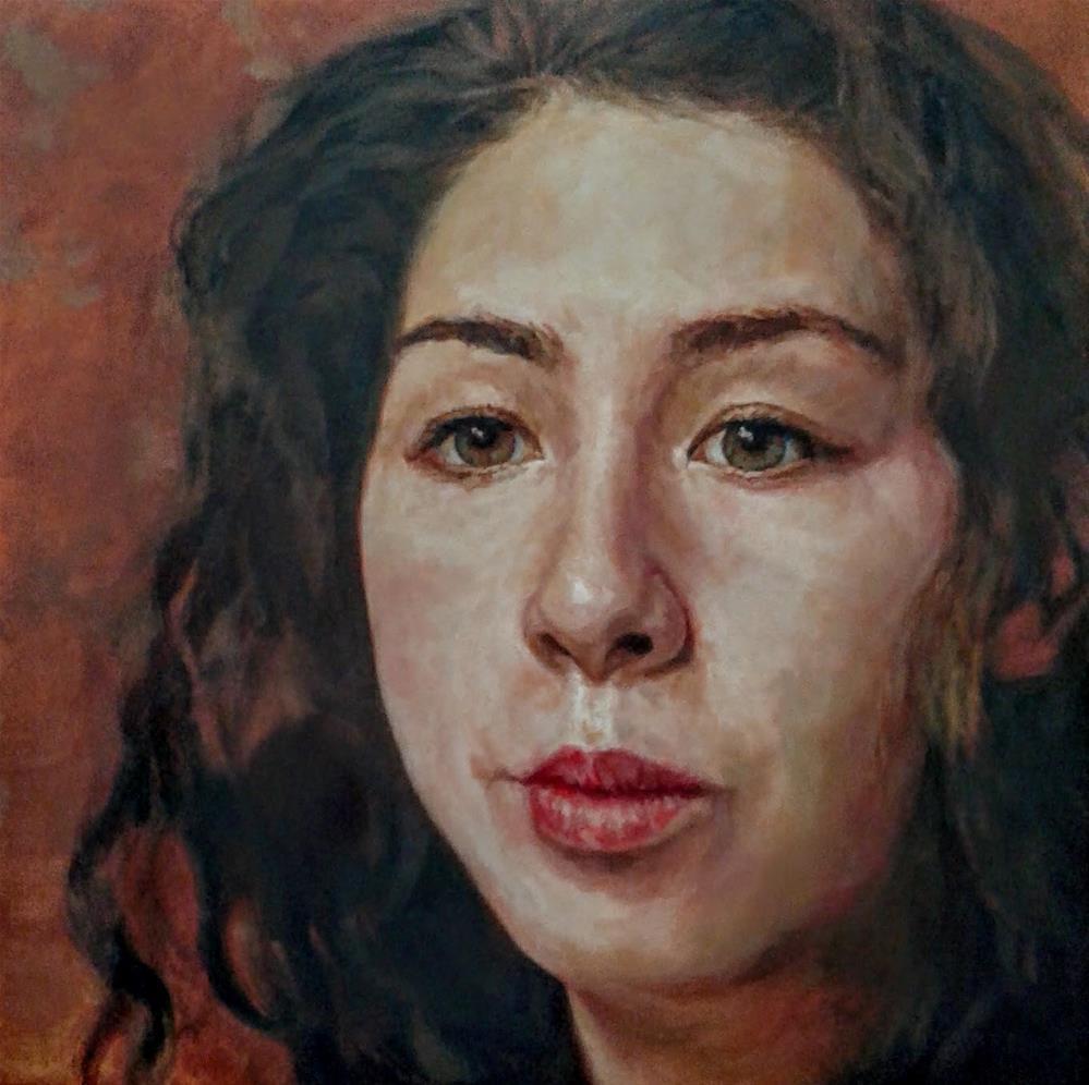 """Rebecca Keiko Zinke"" original fine art by Robert Becker"