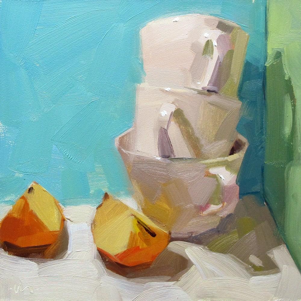"""Cornered"" original fine art by Carol Marine"