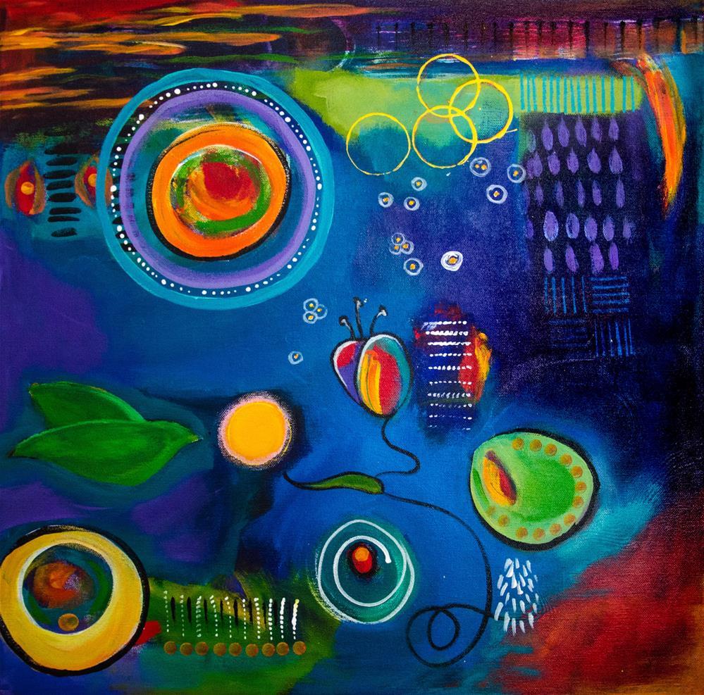 """Midnight Joy"" original fine art by Susan Bertocci"