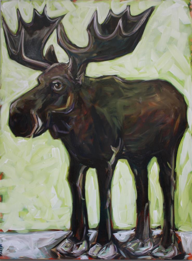 """John"" original fine art by Kandice Keith"