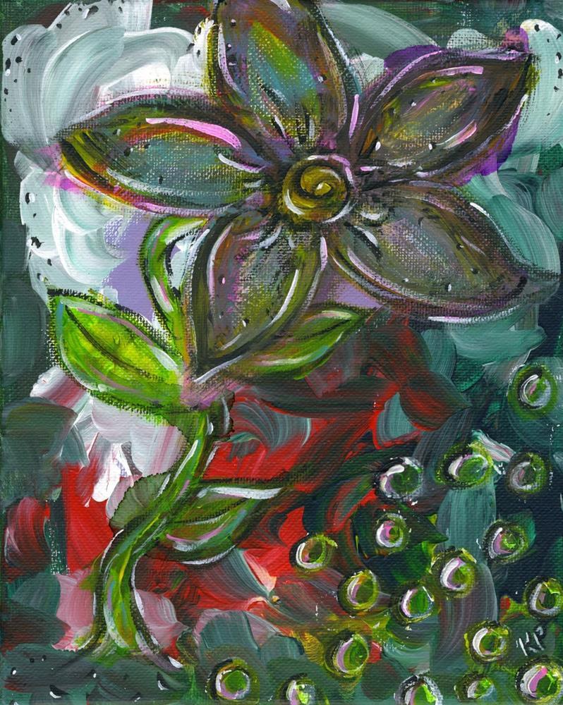 """""""Bubbles Beneath"""" original fine art by Kali Parsons"""